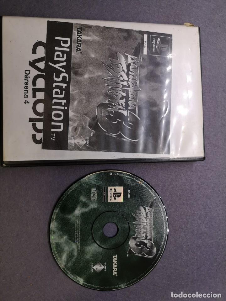 JUEGO PS1 BATTLE ARENA 3 TOSHINDEN PS1 (Juguetes - Videojuegos y Consolas - Sony - PS1)