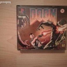 Videojuegos y Consolas: DOOM + DISRUPTOR CAJA DOBLE PS1-PSX. Lote 144491098