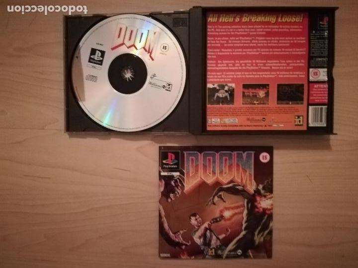 Videojuegos y Consolas: DOOM + DISRUPTOR CAJA DOBLE PS1-PSX - Foto 2 - 144491098