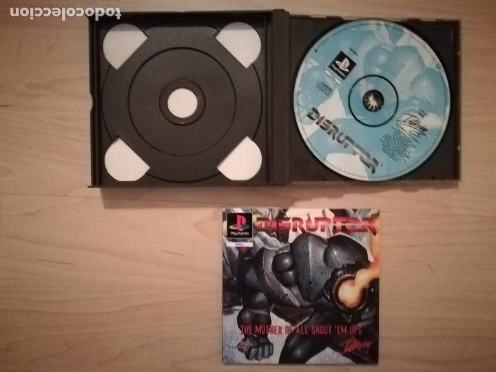 Videojuegos y Consolas: DOOM + DISRUPTOR CAJA DOBLE PS1-PSX - Foto 3 - 144491098