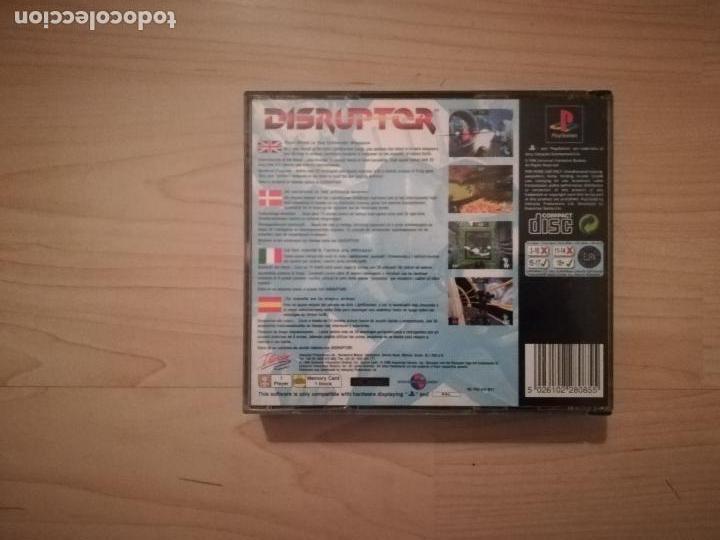 Videojuegos y Consolas: DOOM + DISRUPTOR CAJA DOBLE PS1-PSX - Foto 4 - 144491098