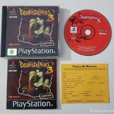 Videojuegos y Consolas: SONY PLAYSTATION 1 - DARKSTALKERS 3 PAL ESPAÑA CAPCOM PSX. Lote 144613670