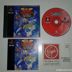 Videojuegos y Consolas: SONY PLAYSTATION 1 - DARKSTALKERS THE NIGHT WARRIORS PAL ESPAÑA CAPCOM PSX. Lote 144613726