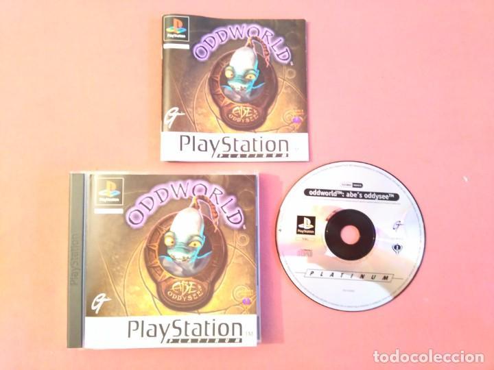 ODDWORLD PARA PS1 PS2 Y PS3!!!! (Juguetes - Videojuegos y Consolas - Sony - PS1)