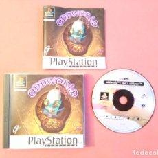 Videojuegos y Consolas: ODDWORLD PARA PS1 PS2 Y PS3!!!!. Lote 182544012