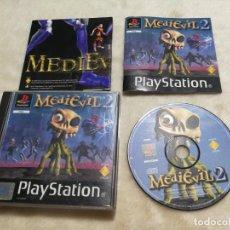 Videojuegos y Consolas: MEDIEVIL 2 PS1 COMPLETO. Lote 145134778