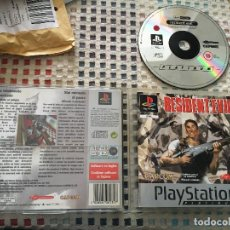 Videojuegos y Consolas: RESIDENT EVIL 1 RE PLATINUM CASTELLANO PSX PLAYSTATION ONE PLAY STATION 1 PS ONE PS1 KREATEN. Lote 149281166