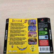 Videojuegos y Consolas: CONTRAPORTADA RAYMAN PS1 PSX. Lote 145422786