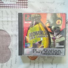 Videojuegos y Consolas: ODDWORLD ABE´S EXODUS PS1-PSX PAL ESP. Lote 145578938