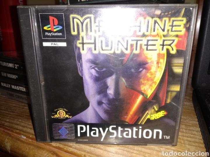 MACHINE HUNTER PLAYSTATION (Juguetes - Videojuegos y Consolas - Sony - PS1)
