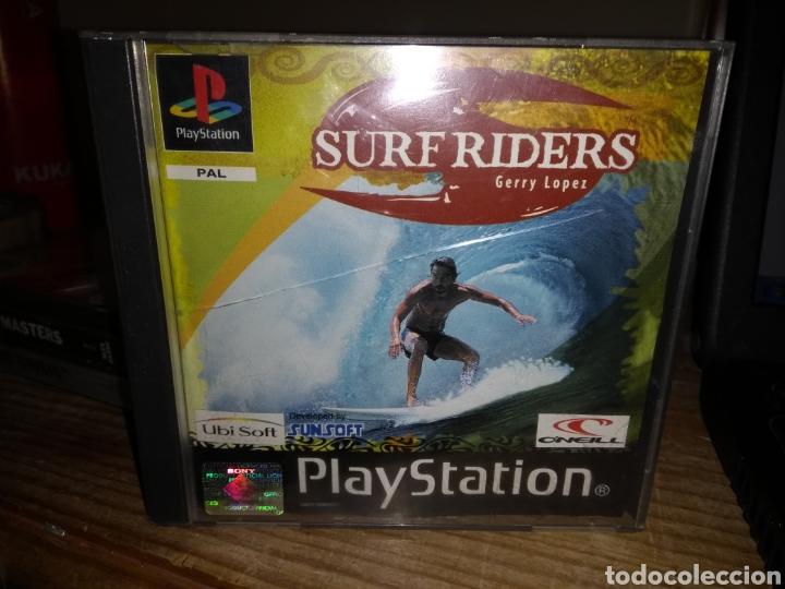 SURF RIDERS GERRY LOPEZ PLAYSTATION (Juguetes - Videojuegos y Consolas - Sony - PS1)