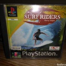 Videojuegos y Consolas: SURF RIDERS GERRY LOPEZ PLAYSTATION. Lote 145642425