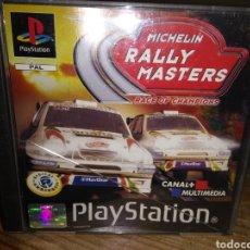 Videojuegos y Consolas: MICHELIN RALLY MASTERS PLAYSTATION. Lote 145642744