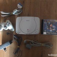 Videojuegos y Consolas: CONSOLA PS ONE + MANDO + JUEGOS + CABLES. Lote 146027512