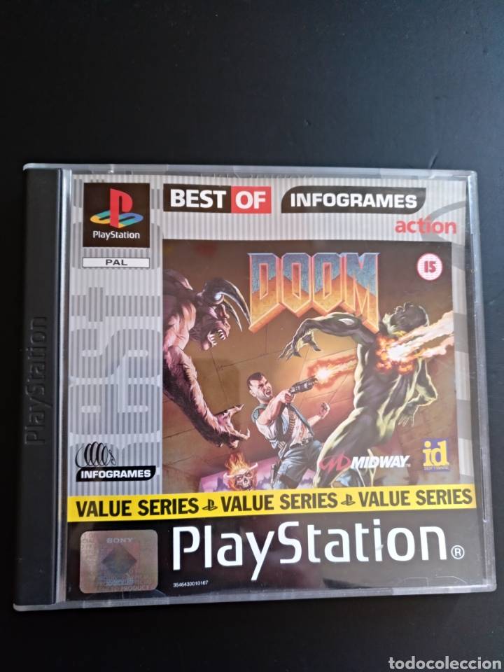 DOOM PS1 PSX PLAYSTATION (Juguetes - Videojuegos y Consolas - Sony - PS1)