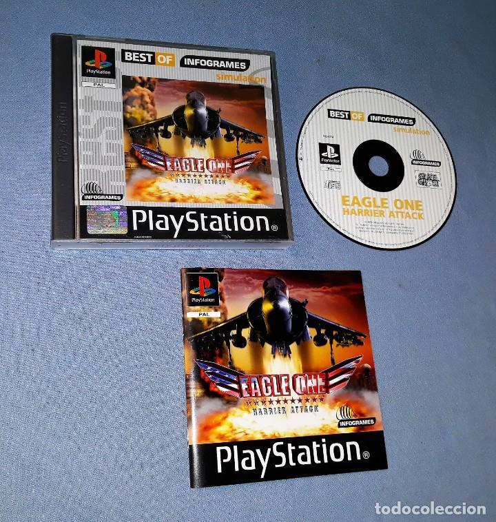 PLAYSTATION EAGLE ONE COMPLETO EN MUY BUEN ESTADO VER FOTOS Y DESCRIPCION (Juguetes - Videojuegos y Consolas - Sony - PS1)