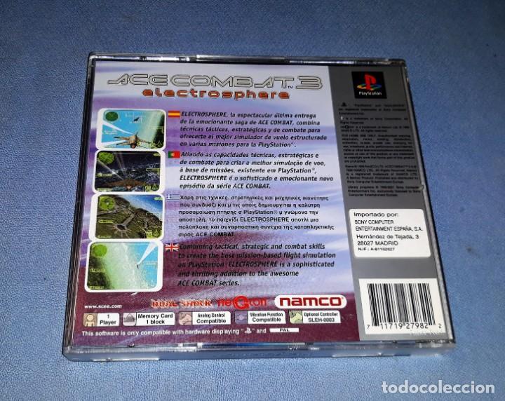 Videojuegos y Consolas: PLAYSTATION ACE COMBAT 3 EN MUY BUEN ESTADO VER FOTOS Y DESCRIPCION - Foto 3 - 147072950
