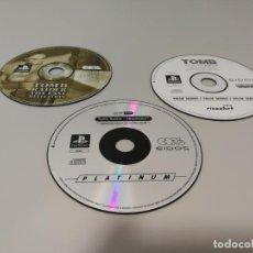 Videojuegos y Consolas: LOTE TOMB RAIDER SOLO CDS. Lote 147338198