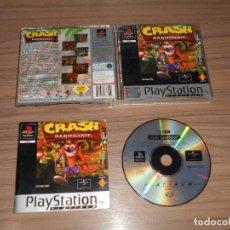 Videojuegos y Consolas: CRASH BANDICOOT COMPLETO PLAYSTATION PAL ESPAÑA. Lote 150326506