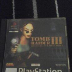 Videojuegos y Consolas: TOMB RAIDER III. Lote 147992066