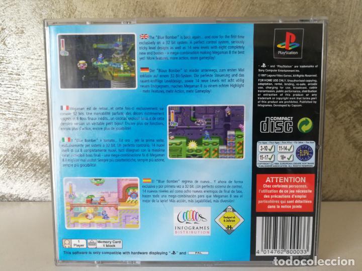 Videojuegos y Consolas: MEGA MAN 8 PS1 COMPLETO - Foto 13 - 148180478