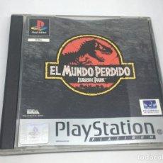 Videojuegos y Consolas: JUEGO JURASSIC PARK EL MUNDO PERDIDO DE PLAYSTATION PS1 . Lote 148567014