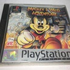 Videojuegos y Consolas: JUEGO MICKEY'S WILD ADVENTURE DE PLAYSTATION PS1 . Lote 148570466