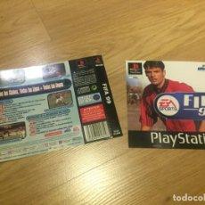 Videojuegos y Consolas: CARATULA Y PORTADA JUEGO PLAYSTATION, PSX, PS1 FIFA 99. Lote 148873262