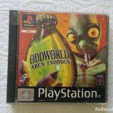 Videojuegos y Consolas: ODDWORLD ABE´S EXODDUS PAL SPA. Lote 107254339