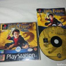 Videojuegos y Consolas: HARRY POTTER Y LA CÁMARA SECRETA - COMPLETO, PLAYSTATION, PAL ESPAÑA. Lote 150012672