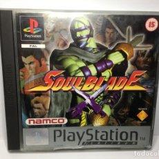 Videojuegos y Consolas: JUEGO SOULBLADE DE PLAYSTATION 1 PS1. Lote 150289898