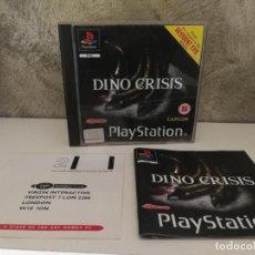 Videojuegos y Consolas: DINO CRISIS PS1 COMPLETO PAL UK. Lote 150355606