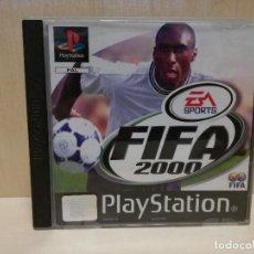 Videojuegos y Consolas: JUEGO PS1 / PSX / PLAY STATION 1 - FIFA 2000 (IDIOMA INGLES). Lote 150431814