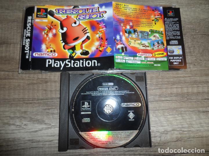 PS1 RESCUE SHOT PAL ESP (PROMOCIONAL PRENSA) (Juguetes - Videojuegos y Consolas - Sony - PS1)