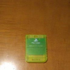 Videojuegos y Consolas: MEMORY CARD SONY PLAYSTATION 1. Lote 150580402