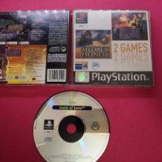 Videojuegos y Consolas: JUEGO PSX PS1 MEDAL OF HONOR. Lote 150944782