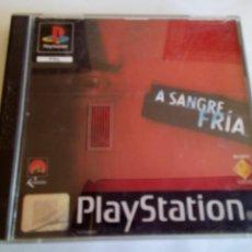 Videojuegos y Consolas: JUEGO A SANGRE FRIA. Lote 151391414