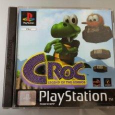 Videojuegos y Consolas: JUEGO PS1 PLAYSTATION 1 CROC LEGEND OF THE GOBBOS JUEGO+MANUAL COMPLETO PAL. Lote 151542449