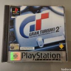 Videojuegos y Consolas: JUEGO PS1 PLAYSTATION GRAN TURISMO 2 2 DISCOS JUEGO+MANUAL COMPLETO PAL. Lote 151640841