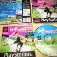 Videojuegos y Consolas: JUEGO PLAYSTATION BARBIE RACE & RIDE. Lote 151668318