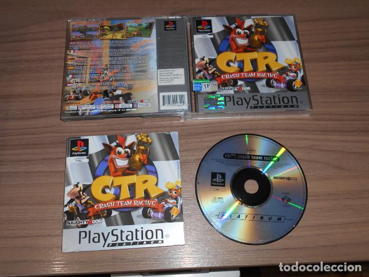 Ctr crash team racing completo playstation pal - Sold