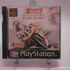 Videojuegos y Consolas: JUEGO PS1 CASTROL HONDA SUPERBIKE RACING PS1. Lote 153180414
