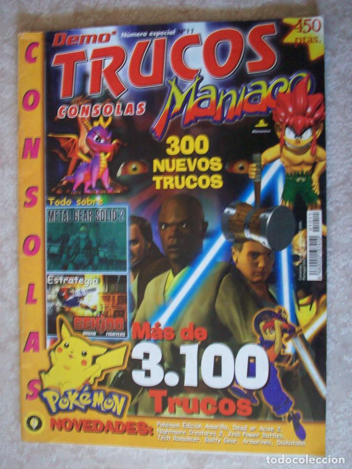 Trucos Maniaco Nº 11 revista playstation Guía de cheats guia psx ps1 psone