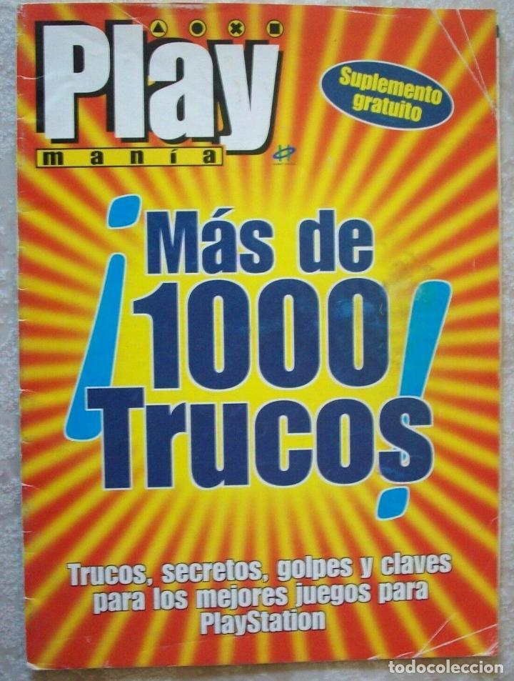 Más De 1000 Trucos revista Playmania playstation Guía cheats guia psx ps1  psone