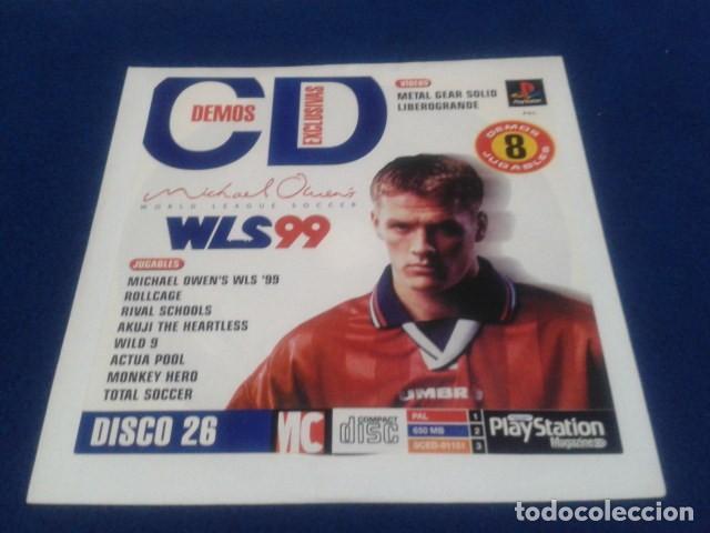 PLAYSTATION DISCO 26 ( WLS 99 MICHAEL OWENS ) 1998 EURO DEMO 41 ( 8 DEMOS JUGABLES ) (Juguetes - Videojuegos y Consolas - Sony - PS1)