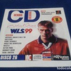 Videojuegos y Consolas: PLAYSTATION DISCO 26 ( WLS 99 MICHAEL OWENS ) 1998 EURO DEMO 41 ( 8 DEMOS JUGABLES ). Lote 153714374