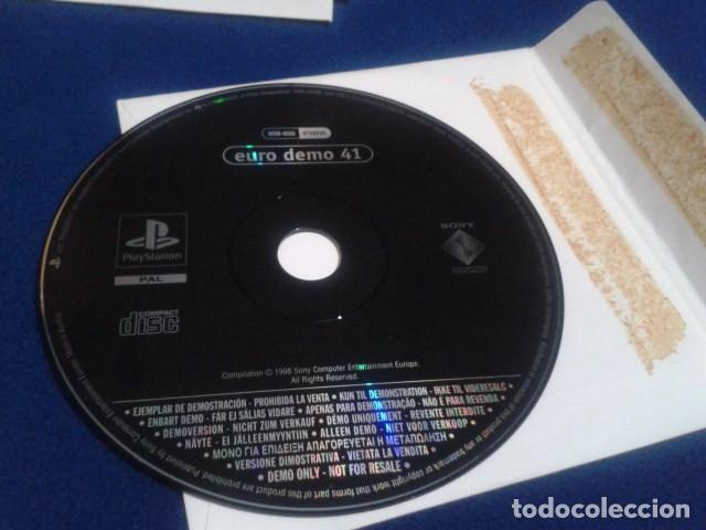 Videojuegos y Consolas: PLAYSTATION DISCO 26 ( WLS 99 MICHAEL OWENS ) 1998 EURO DEMO 41 ( 8 DEMOS JUGABLES ) - Foto 3 - 153714374