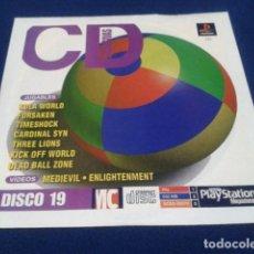 Videojuegos y Consolas: PLAYSTATION DISCO 19 ( KULA WORLD ) 1998 EURO DEMO 33 ( 7 DEMOS JUGABLES + VIDEOS ). Lote 173897524