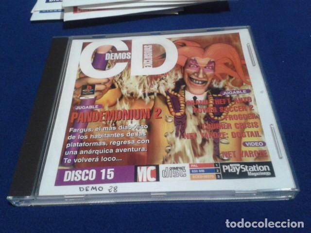 PLAYSTATION DISCO 15 ( PANDEMONIUM 2 ) 1997 EURO DEMO 28 ( 5 DEMOS JUGABLES + VIDEOS ) (Juguetes - Videojuegos y Consolas - Sony - PS1)