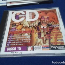 Videojuegos y Consolas: PLAYSTATION DISCO 15 ( PANDEMONIUM 2 ) 1997 EURO DEMO 28 ( 5 DEMOS JUGABLES + VIDEOS ). Lote 153718018
